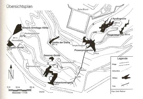 Übersicht Höhlen