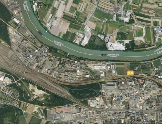 Schwei$zerhalle Google Earth